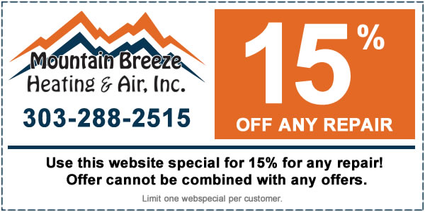 Mountain Breeze HVAC Coupon