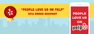 Yelp Award Recipient