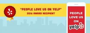 Yelp Award Recipient
